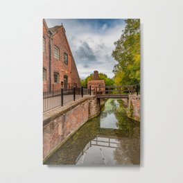 China Works Coalport Metal Print