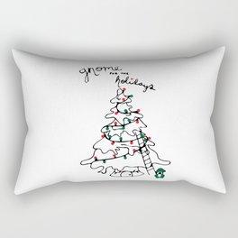Gnome for the Holidays Rectangular Pillow