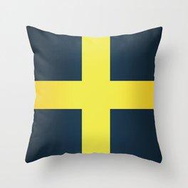Flag of Saint David Of Wales Throw Pillow