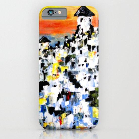 Abstract Santorini, Greece Landscape iPhone & iPod Case