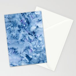 as our thoughts become snow Stationery Cards