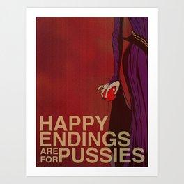"""F@#k Fairy Tales!"" - The Evil Queen Art Print"