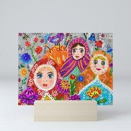 Pretty Ladies Mini Art Print