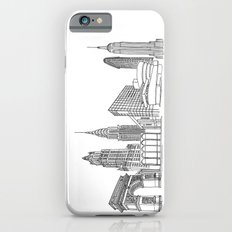 NYC Landmarks by the Downtown Doodler Slim Case iPhone 6s