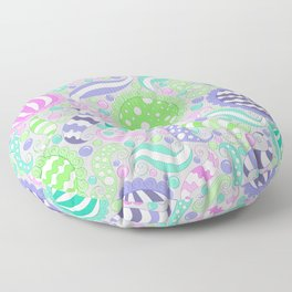 Candy Store Pattern Print Floor Pillow