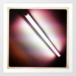 Fluorescent Art Print