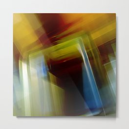 Abstract Composition 420 Metal Print