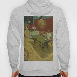 """Vincent van Gogh """"Le café de nuit (The Night Café)"""" Hoody"""