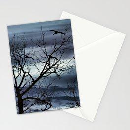 Night Nature Scene Photo Illustration Stationery Cards
