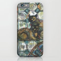 Cats in the patio. iPhone 6 Slim Case