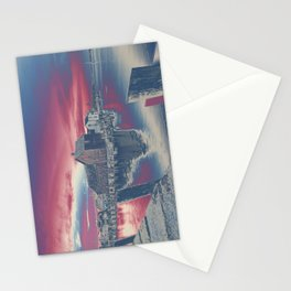 Motif #1 color explosion Stationery Cards