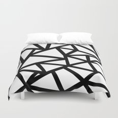 Ab Out Thicker B Duvet Cover
