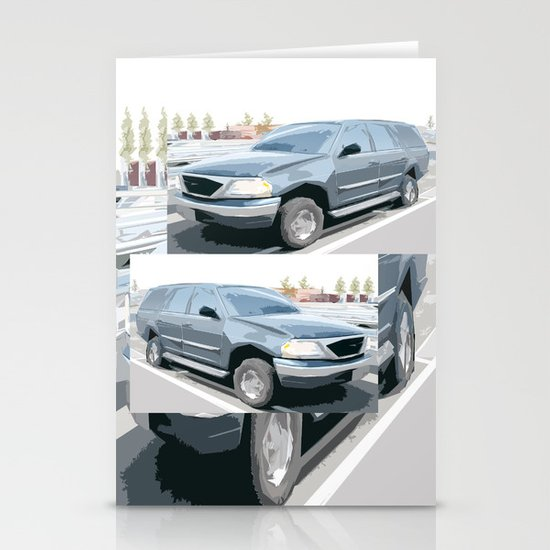 Ford Expedition updated face lift Stationery Cards