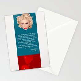 Gwen, No Doubt Stationery Cards