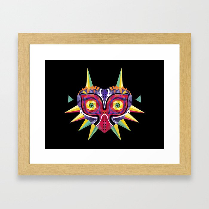 Majora's Incarnation Framed Art Print