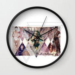 Branding For Love and Lemons Wall Clock
