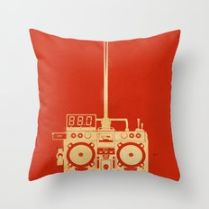 88mph Throw Pillow