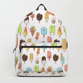 Watercolor Ice Cream Doodle Backpack