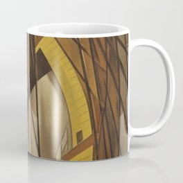 Brooklyn Bridge, New York City portrait painting by Howard Cook Coffee Mug