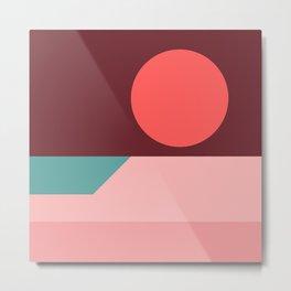 Sunseeker 09 Square Metal Print