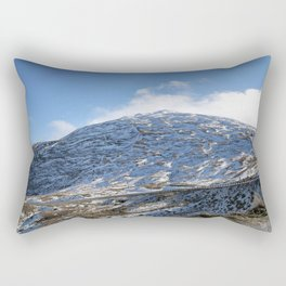 The Drive to Cardrona Ski Fields from Queenstown, New Zealand Rectangular Pillow