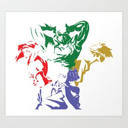 Space Cowboys Art Print