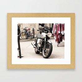 montmartre pt 3 Framed Art Print