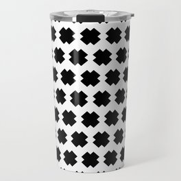 Cross-Stitch Pattern Travel Mug