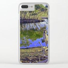 Iconic Australia Clear iPhone Case