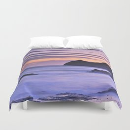 """Purple sea"" Duvet Cover"
