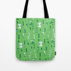 Letter Patterns, Part I Tote Bag