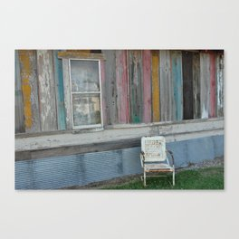 A Southern Shack Canvas Print