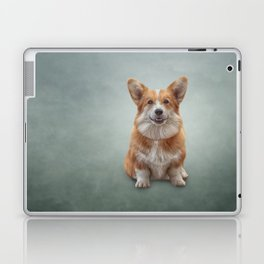 Drawing Dog breed Welsh Corgi 7 Laptop & iPad Skin