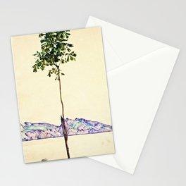 Egon Schiele -Little Tree Stationery Cards