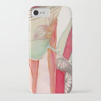 princess iPhone & iPod Cases featuring Princess by Angella Meanix
