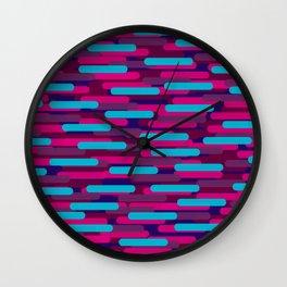 Fast Capsules 10 Wall Clock