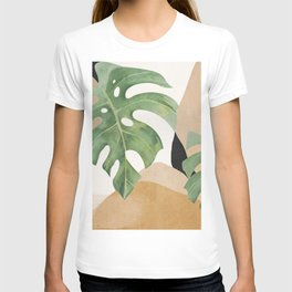Abstract Art Tropical Leaves 3 T-shirt