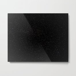 Dark Starry Abyss // Long Exposure Photograph of the Night Sky Metal Print