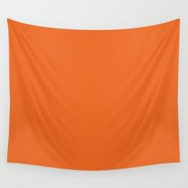 orange tiger Wall Tapestry