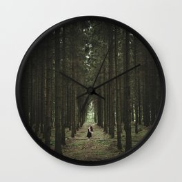 The Woods of St Olof 2 Wall Clock