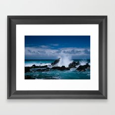 Hookipa Maui North Shore Hawaii Framed Art Print