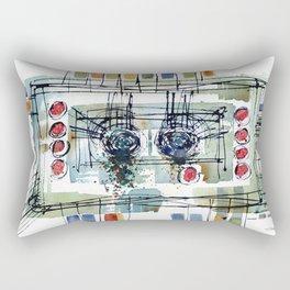 NOT CRYING Rectangular Pillow