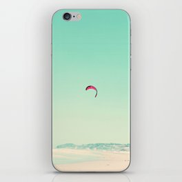 wind surfin'  iPhone Skin