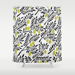 Little Lemons Shower Curtain