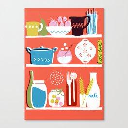 Let's Cook! Canvas Print