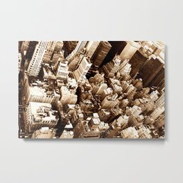 NYC - Big Apple from Empire  Metal Print