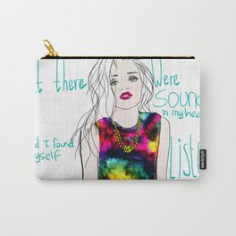 sounds in my head Carry-All Pouch