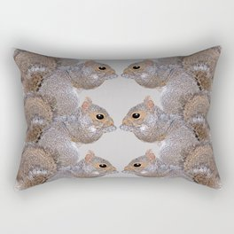 Squirrel Whispers Rectangular Pillow