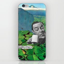 Reality Check iPhone Skin