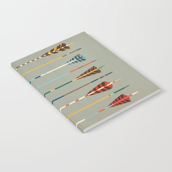 Vintage Arrows Notebook